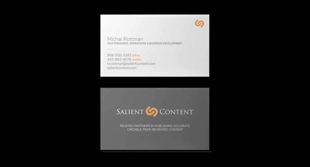 Salient Content Business Cards