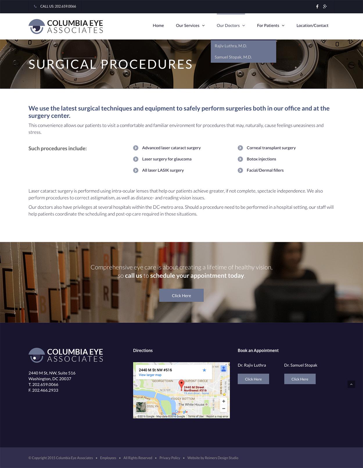 Columbia Eye Associates - Surgical Procedures