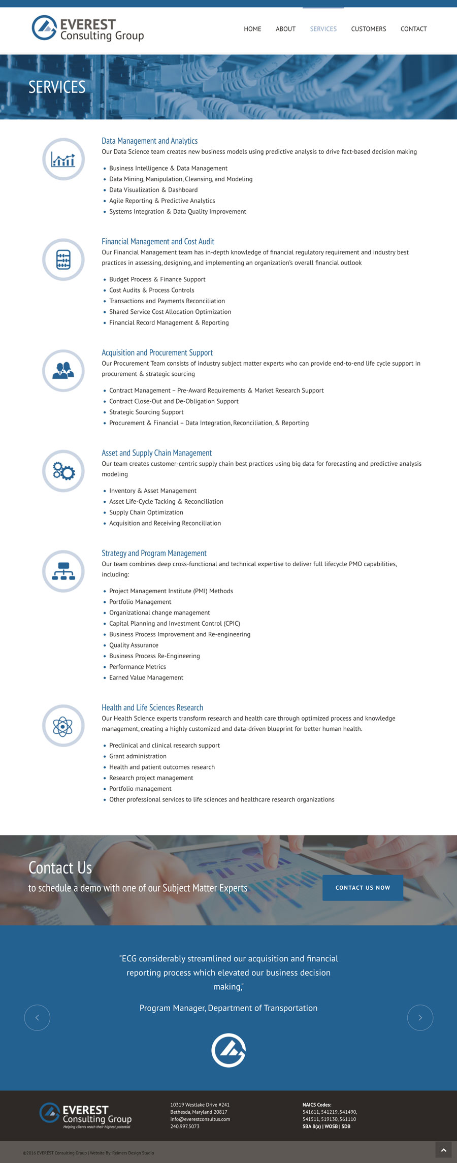 Everest Consulting Group Services
