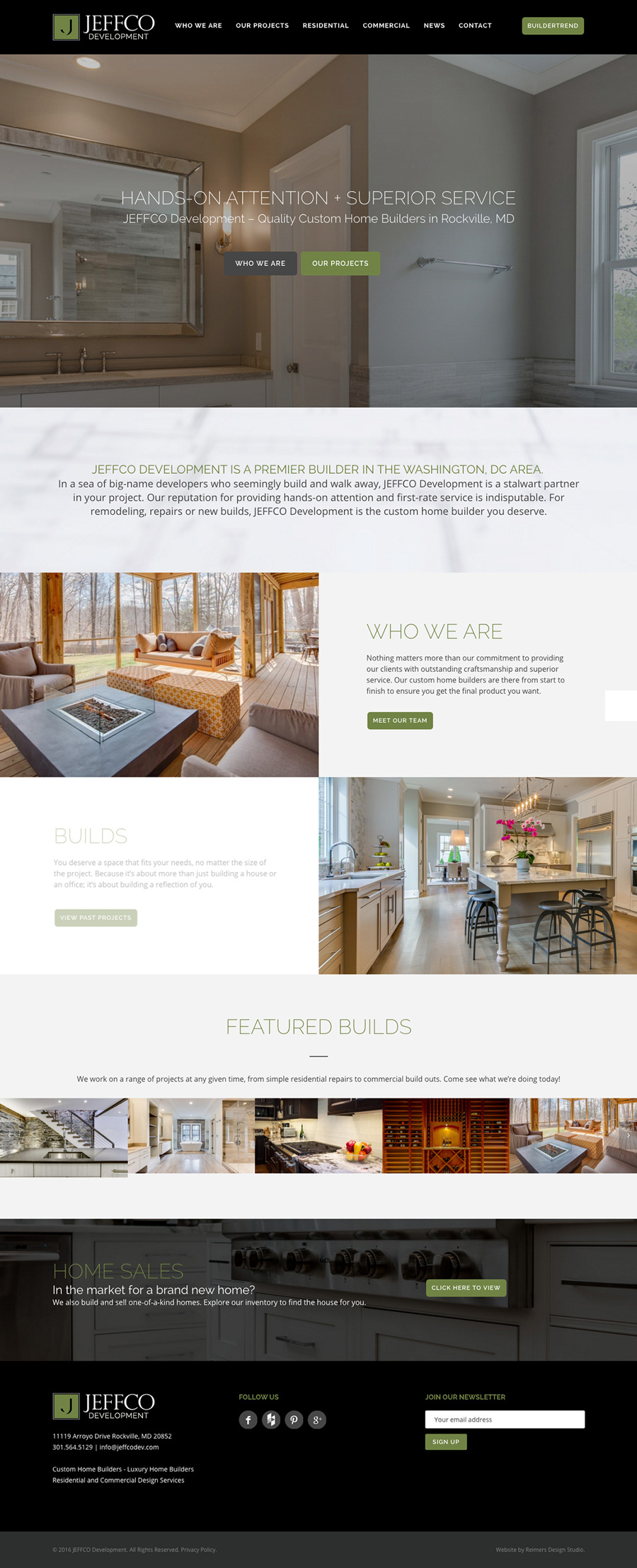 Jeffco Development Website Design