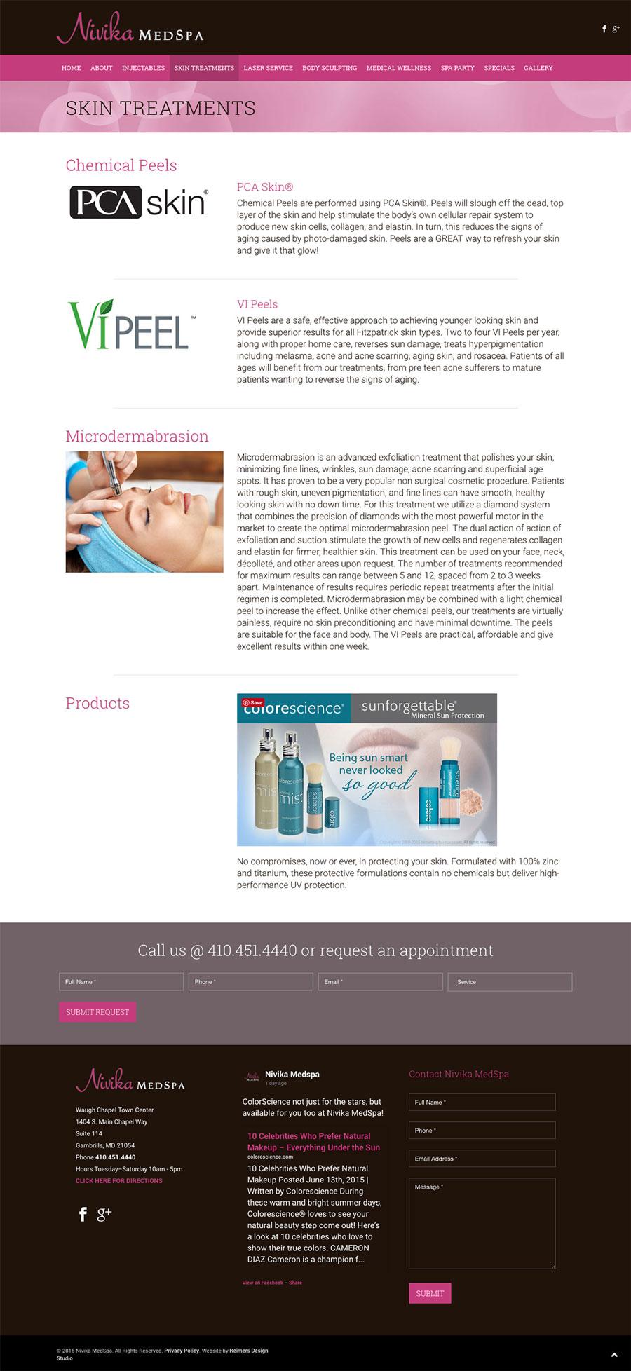 Nivika MedSpa Skin Treatments