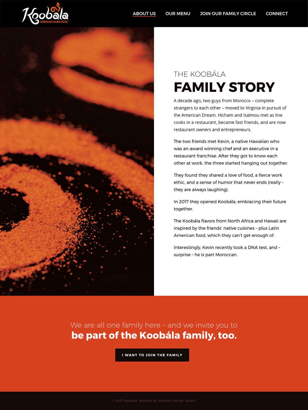 Koobala Family Story